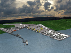 Project for Reconstruction and Extension of Port Lesport